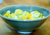 Rita's Mango Coconut Cucumber salad