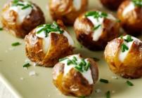 Diana's Smoked Salmon & Cheese Twice Baked Mini Potatoes