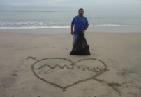 LOVELY beach clean up!