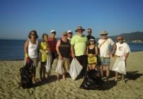 Valentine's Day Beach Clean Up